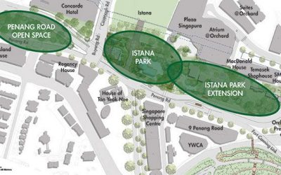 Expansion of Istana Park Part of Plans to Refresh Orchard Road